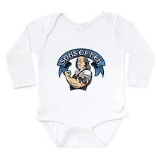 Sons of Ben Long Sleeve Infant Bodysuit