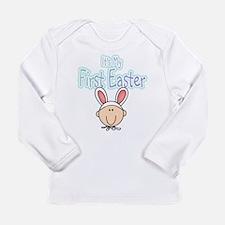 Bunny 1st Easter (boy) Long Sleeve Infant T-Shirt
