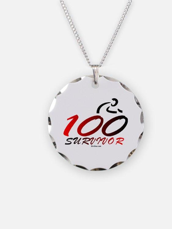 Century Survivor Necklace Circle Charm