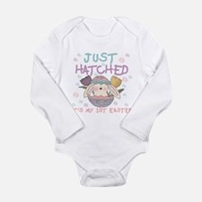 Just Hatched 1st Easter Long Sleeve Infant Bodysui