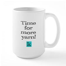 Time for More Yarn Large Mug