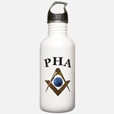 Prince Hall Square and Compass Water Bottle
