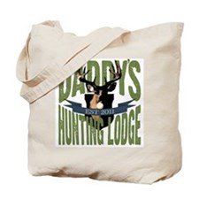 Daddy's Hunting Lodge Tote Bag