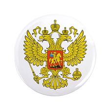 """Russia Russland Logo Wappen 3.5"""" Button"""