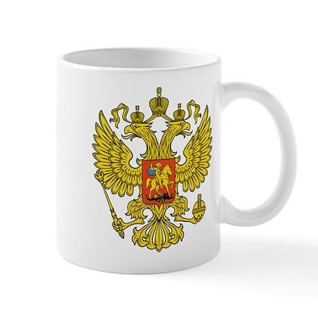 Russia Russland Logo Wappen Mug