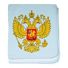 Russia Russland Logo Wappen baby blanket