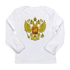 Russia Russland Logo Wappen Long Sleeve Infant T-S