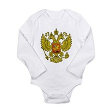 Russia Russland Logo Wappen Long Sleeve Infant Bod