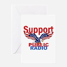 Public Radio Greeting Card