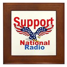 Public Radio Framed Tile