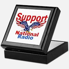Public Radio Keepsake Box