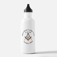 Blue Steel Lodge Water Bottle