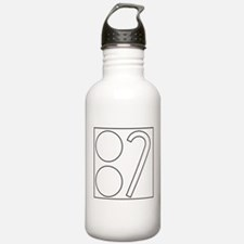 Two Ball Cane Water Bottle