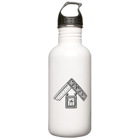 Past Master's Jewel No. 3 Stainless Water Bottle 1