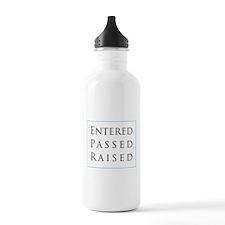 Entered Passed Raised Water Bottle