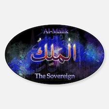 Unique Allah Sticker (Oval)