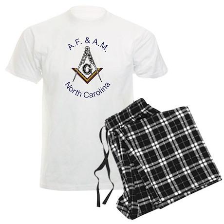 North Carolina Square and Com Men's Light Pajamas
