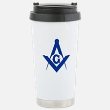 Masonic Square and Compass Travel Mug