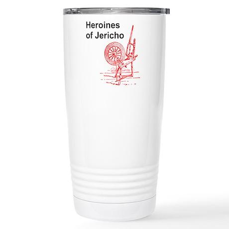 Heroines of Jericho Stainless Steel Travel Mug