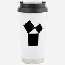 47th Problem of Euclid Travel Mug