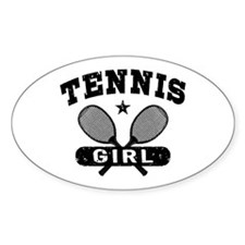 Tennis Girl Stickers