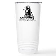 Masonic Broken Column Travel Mug