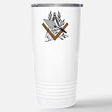 Masonic S&C with Trowel Travel Mug