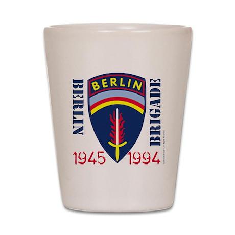 Official BerlinBrigade.com Shot Glass