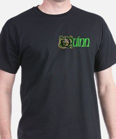Quinn Green 2 Celtic Dragon T-Shirt