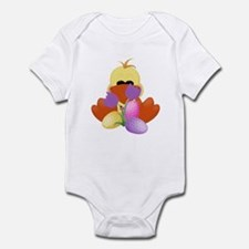 Duck Tulips and Eggs Infant Bodysuit
