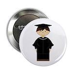 "Cute Graduation Kid 2.25"" Button (10 Pk)"