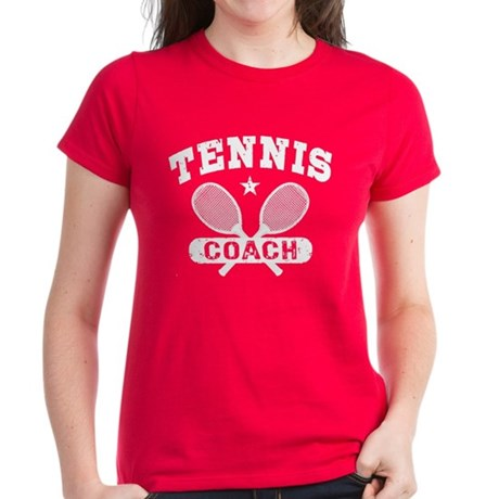Tennis Coach Women's Dark T-Shirt