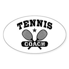 Tennis Coach Decal