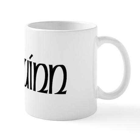 Quinn Celtic Dragon Mug