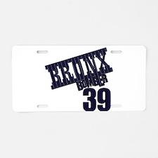 BB39 Aluminum License Plate