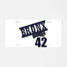 BB42 Aluminum License Plate