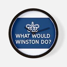 Cute Winston churchill Wall Clock