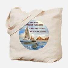 Starship Voyagers_Whale Watching - Tote Bag