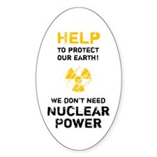 HELP to protect - black Decal
