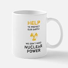 HELP to protect - black Mug