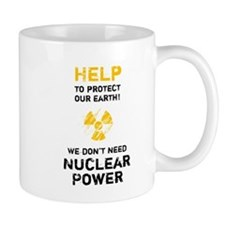 HELP to protect - black Mug