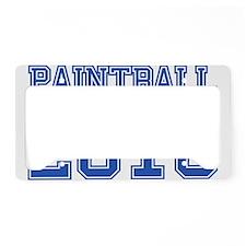 """""""Paintball 2010"""" License Plate Holder"""