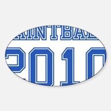 """""""Paintball 2010"""" Decal"""