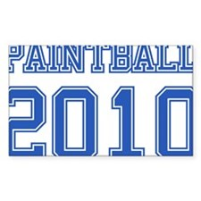 """Paintball 2010"" Decal"