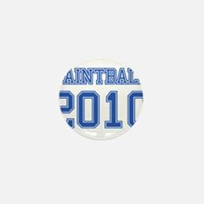 """Paintball 2010"" Mini Button (100 pack)"
