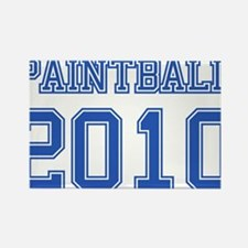 """Paintball 2010"" Rectangle Magnet (100 pack)"