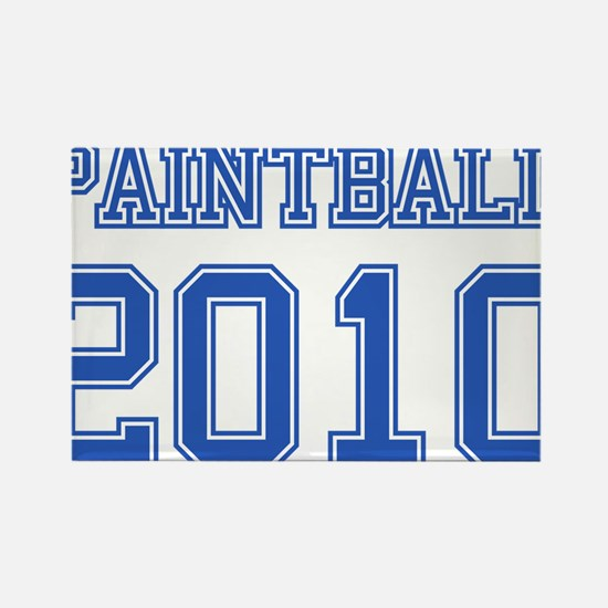 """Paintball 2010"" Rectangle Magnet"