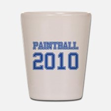 """Paintball 2010"" Shot Glass"