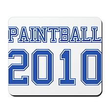 """""""Paintball 2010"""" Mousepad"""