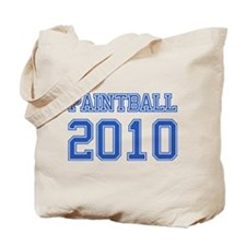 """Paintball 2010"" Tote Bag"